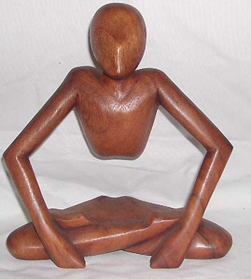 Wooden abstract art, home decor, carved figurine, unique bali crafts, table top sculpture, decorative statues