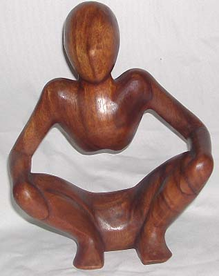 Balinese sculpture, wooden carvings, handicraft ornaments, collectible figurine, abstract art, trendy decor