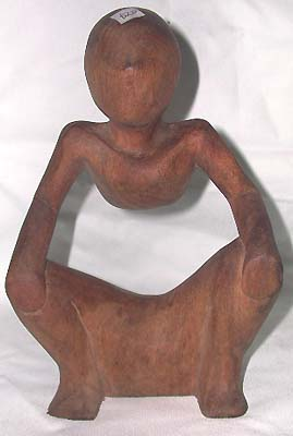 Handmade wooden sculpture, bali art decor, abstract figurine, figure design, fine art, wood carvings