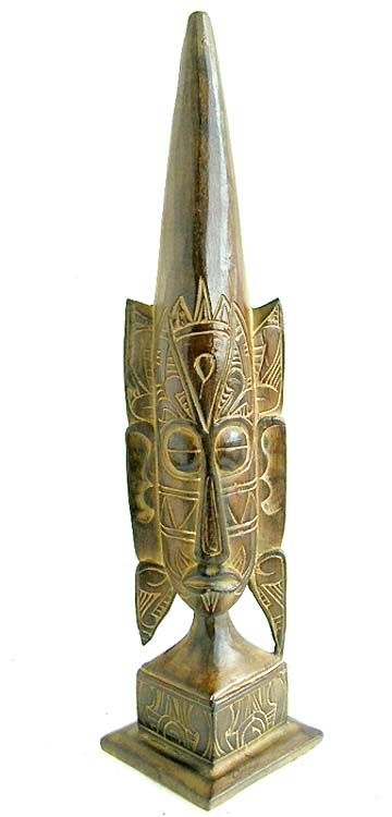 Indonesian handicrafts, mask figures, native masks, painted art, artist inspired decor, wood designs