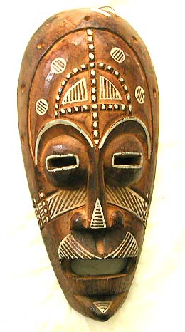 Hand carved mask, unique tribal figure, wall decor, aboriginal art, handicraft, bali carvings, travel wood furnishing