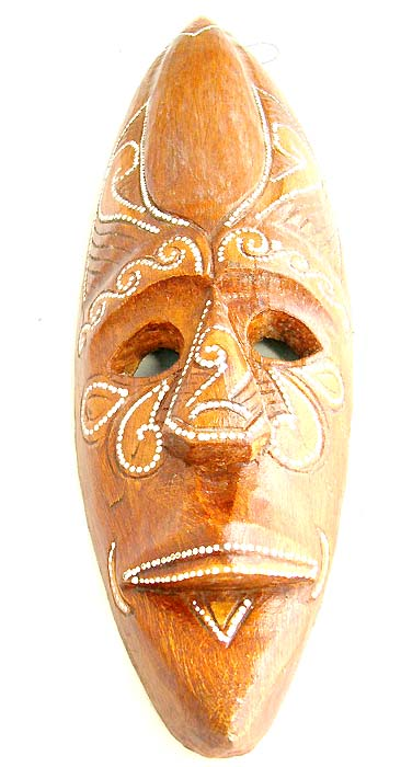 Batik carvings, home fashion, folk art, indonesian mask, crafted ornaments, quality wooden decor