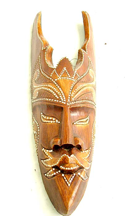 Beaded mask designs, indonesian artisan, aboriginal figures, native masks, wall decor, interior design