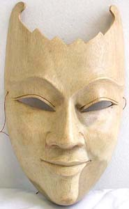 Wooden craft gifts, white wood mask, quality carvings, batik products, tribal art, home furnishings