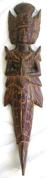 Wood bali handicrafts, wall art decor, wooden figure designs, indonesian ornament, handmade images, carved wood