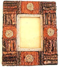 Arts and craft gift, bali picture frame, personalized photograph accessory, custom memory holder, camera accessories