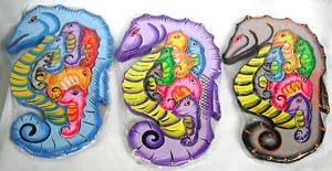 Handcrafted kids gifts, bali sea horse toy, jigsaw puzzles, indonesian artsy toy, childrens fun ocean animal games