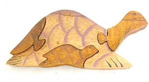 3D puzzle, carved wooden toy, bali designed kids gift, handmade crafted games, childrens toys