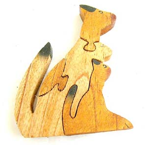 Animal shaped toys, childrens wooden games, fun picture puzzles, bali handmade gift, indonesian fun toy