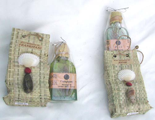 Seashell gift bag, relaxation oils, bali natural oil, aromatic massage, home decor, scented gift bags