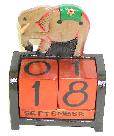 Animal handicraft, artisan decorated calendar, quality carvings, kids wooden calendars, event planning, wood furnishings, kitchen gifts
