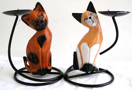 Animal lovers home decor, wrought iron candle holder, pillar candle stand, interior designs, fashion furnishing, bali crafts