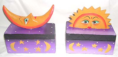 Astrological boxes, ladies unique jewelry box, handicraft gifts, carved wood decor, make-up accessory