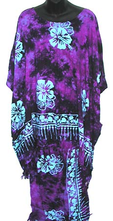 Tropical decor kaftan, womens high fashion, trendy resort clothing, beach apparel, summer vacation gift
