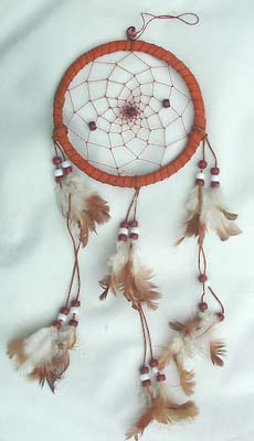 Crafted leather decor, beaded dream catchers, home art decor, handmade gifts, interior designs
