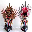 Religious art work, wooden carving, handcrafted sculpture, trendy idol novelties, bali interior decor, decorative statues