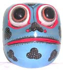 Animal face decor, bali mask, carved gift, collectible wall art, handcrafted designs, wood masks, folk art culture
