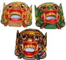 Bali tribal mask, crafted home furnishing, wood carving, handicrafts, aboriginal art, asian designs, interior crafts