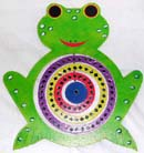 Balinese wind mobiles, animal decor, kids wind art, frog image art, handicrafts, weather toys, interior design, wall accessory