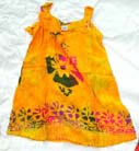 Batik girls sun dress, handmade garden dresses, kids paradise clothing, island wear, artisan resort wear