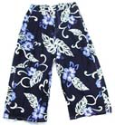 Mens surf shorts, hawaiian clothing, hibiscus print pattern, designer apparel, summer wear, boys long board pants